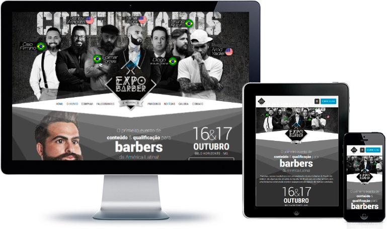 ExpoBarber Brasil | Websites / E-commerce
